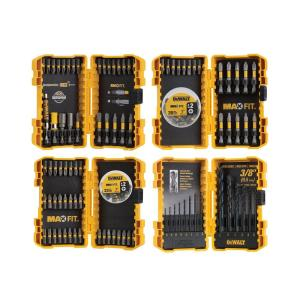 Deals on Dewalt Maxfit Screwdriving and Drill Bit Set 140-Piece