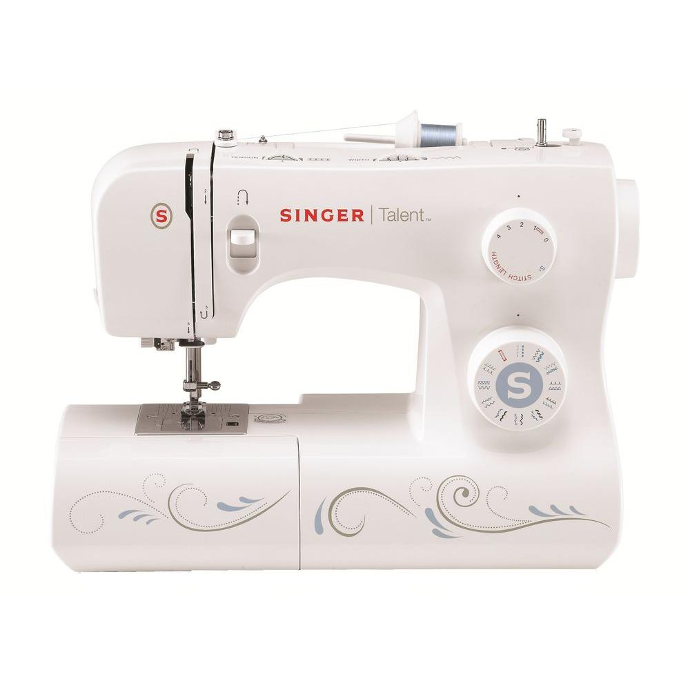 SINGER SEWING CO. Talent 23-Stitch Sewing, White