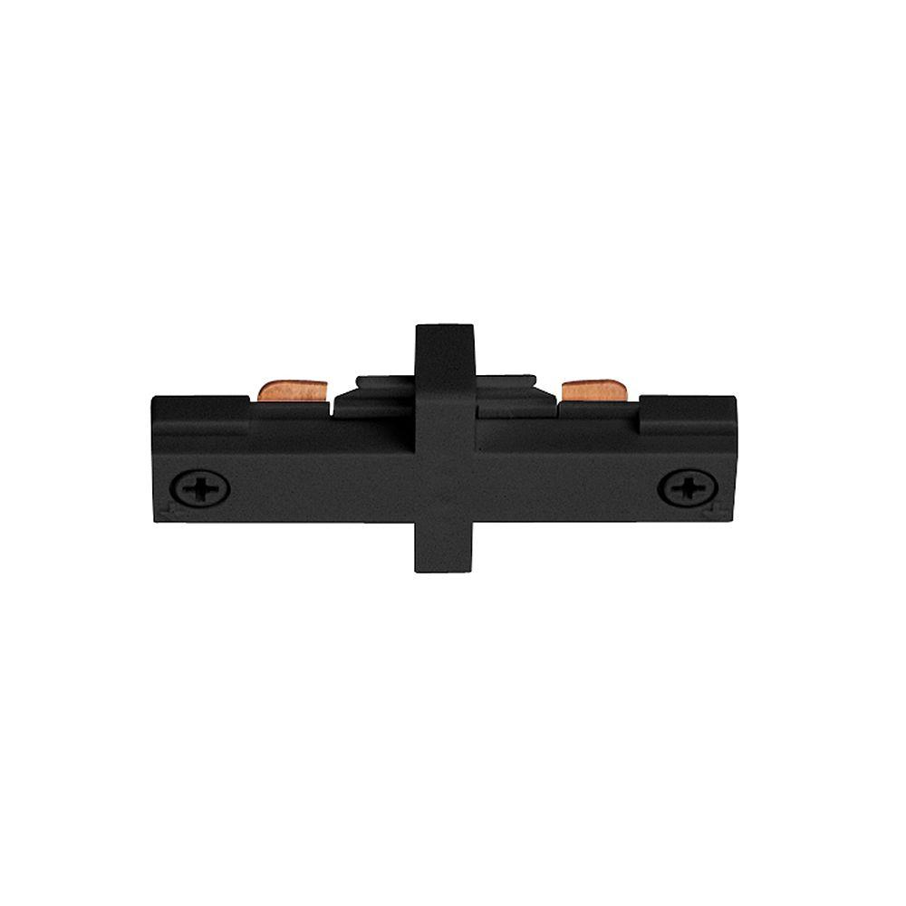 Trac-Lites Black Miniature Straight Connector