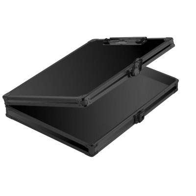 Locking Storage Clipboard, 2.15 x 12.75 x 9.75 in., Tactical Black
