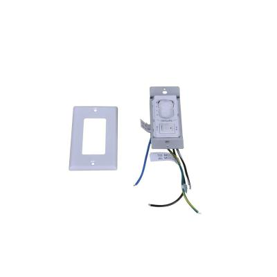 Bentley II 18 in. Natural Iron Wall Switch