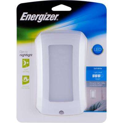LED Night Light Auto On/Off Coverlite Flex White