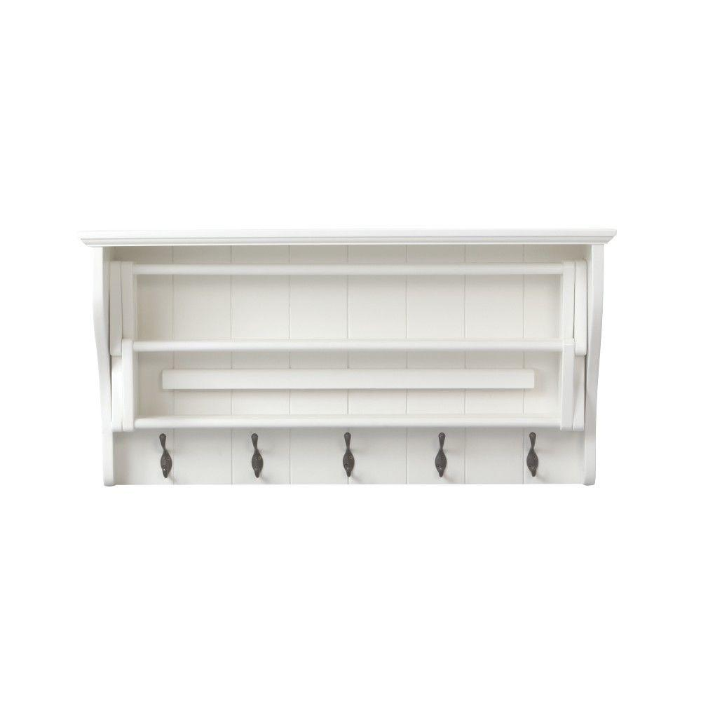 Madison 18 In. H White Accordion Wall Mounted ...