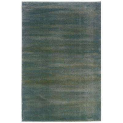 Artisan Chromo Blue and Green 10 ft. x 13 ft. Area Rug