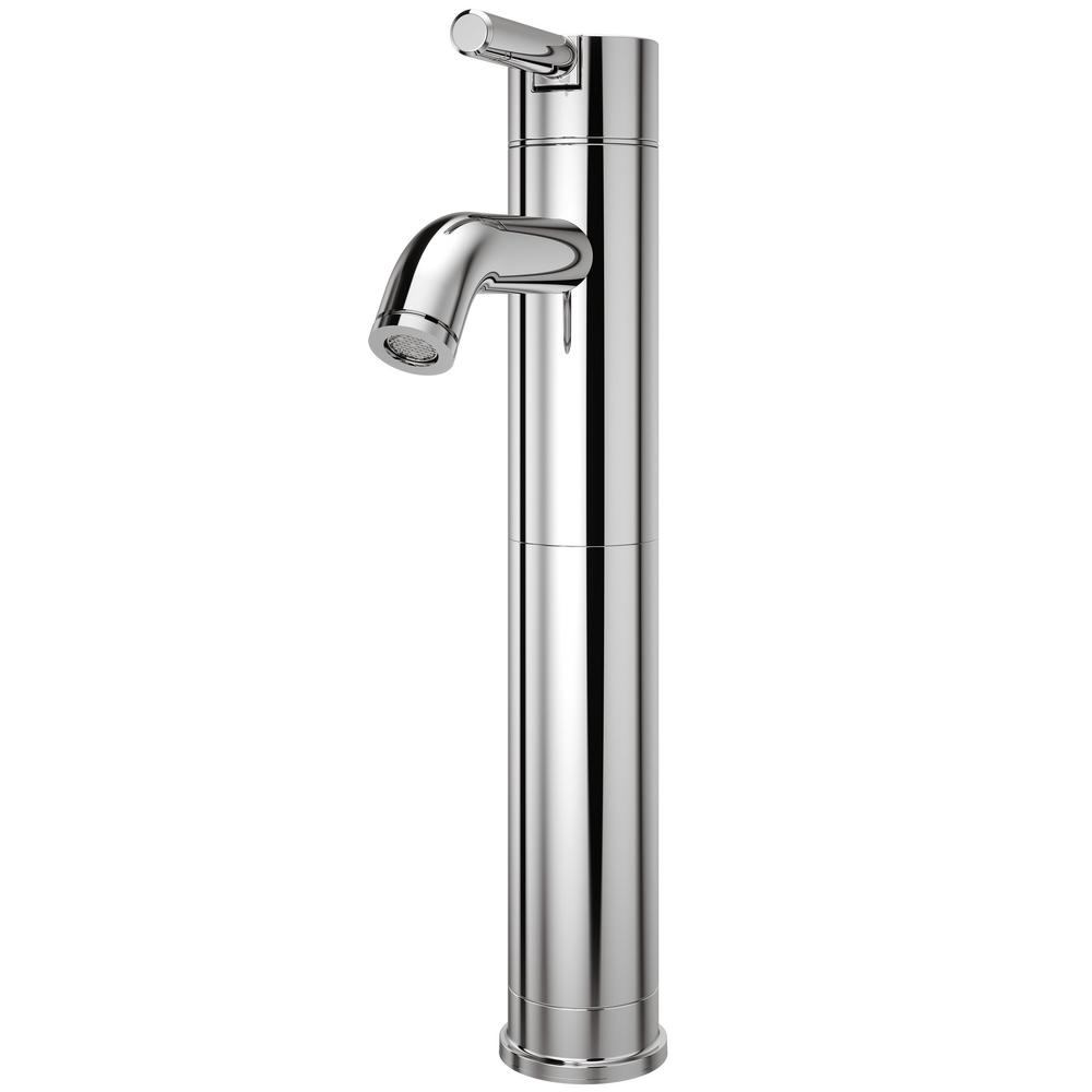Pfister Contempra Single Hole Single-Handle Vessel Bathroom Faucet ...