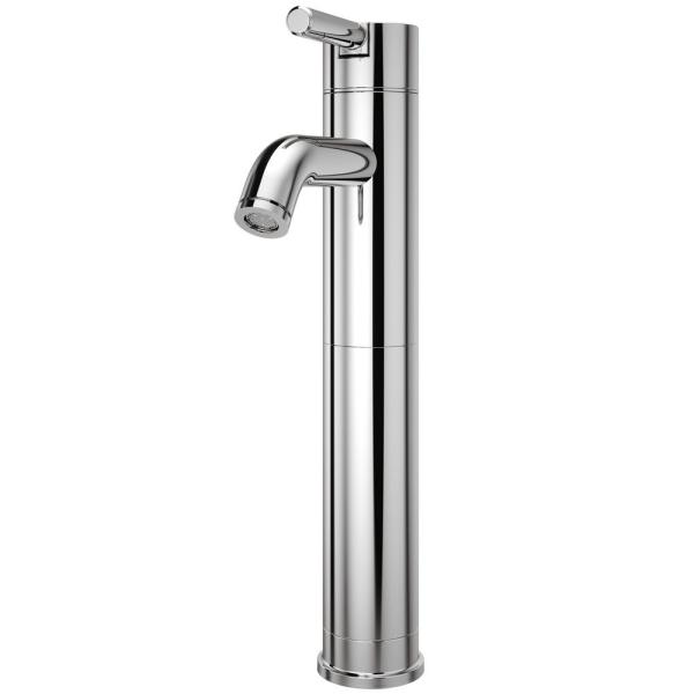 Pfister Contempra Single Hole Single-Handle Vessel Bathroom Faucet in Polished Chrome