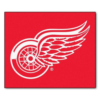 Detroit Red Wings 5 ft. x 6 ft. Tailgater Rug