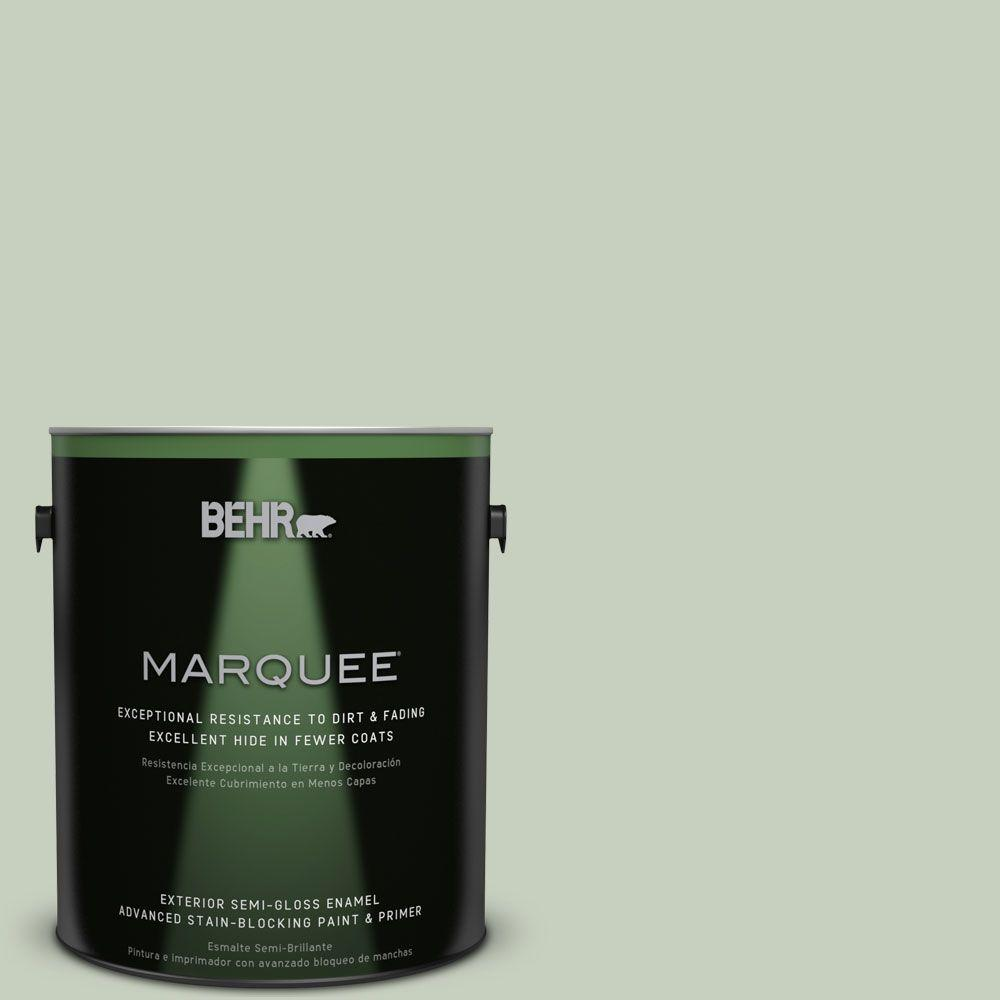 BEHR MARQUEE 1-gal. #PPF-25 Terrace View Semi-Gloss Enamel Exterior Paint