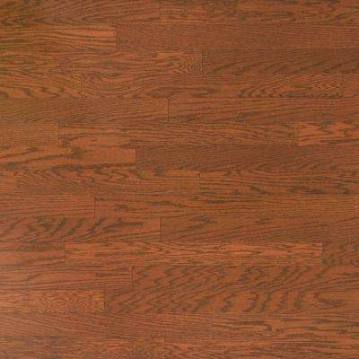 Oak Almond 3/8 in. Thick x 5 in. Wide x Varying Length Engineered Hardwood Flooring (24.15 sq. ft. / case)