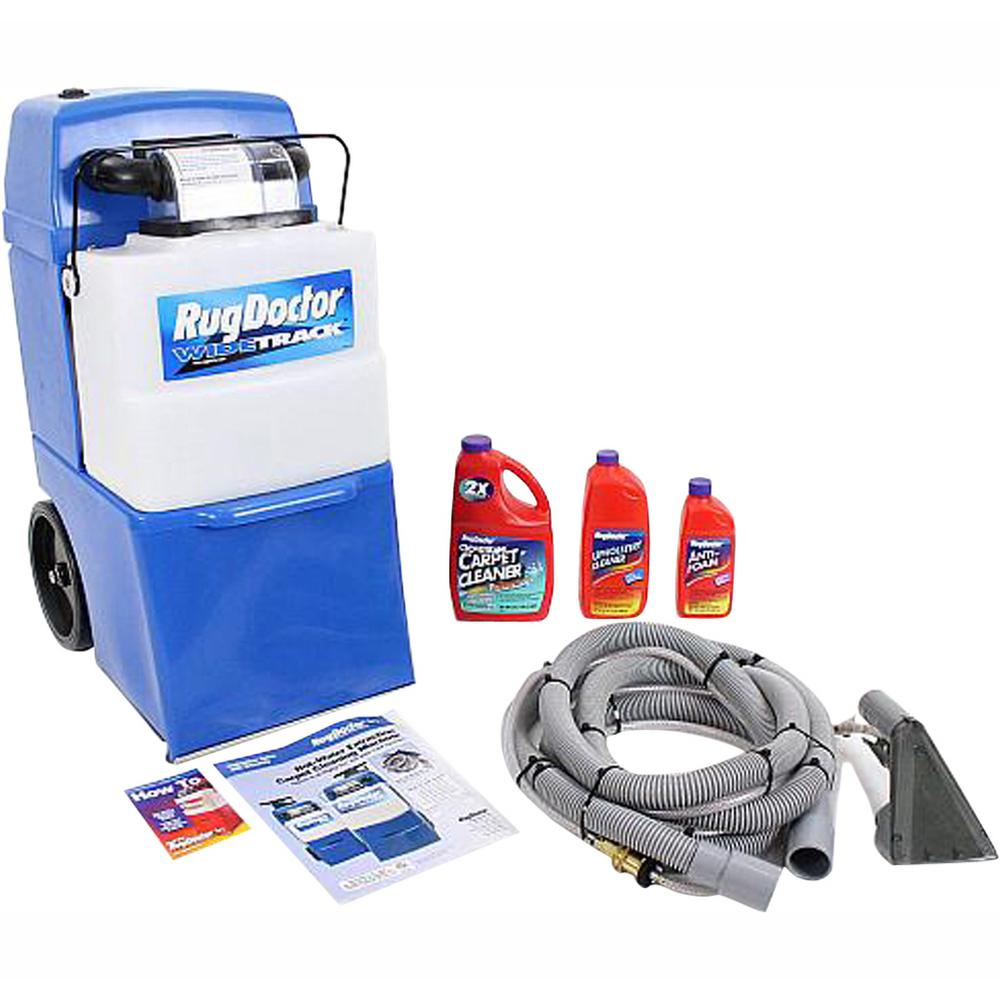 Rug Doctor Upright Wide Track Pro Carpet Cleaner With Tools And Shampoo