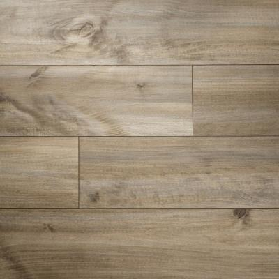 8 mm T x 7-1/2 in. W x 50-2/3 in. L Ghost Ship Maple Water Resistant Laminate Flooring (23.69 sq. ft./case)