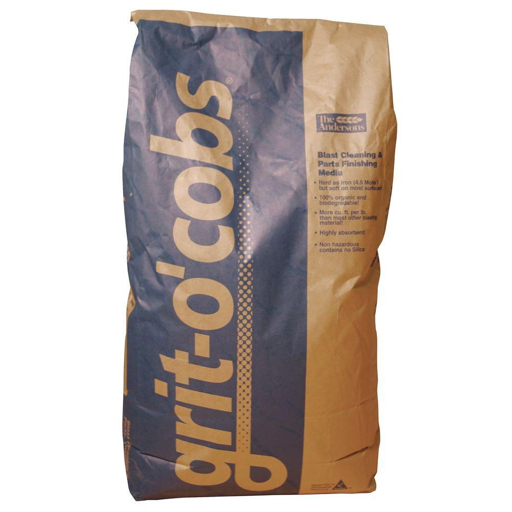 ALC 50 lbs  Corn Cob Blasting Abrasive