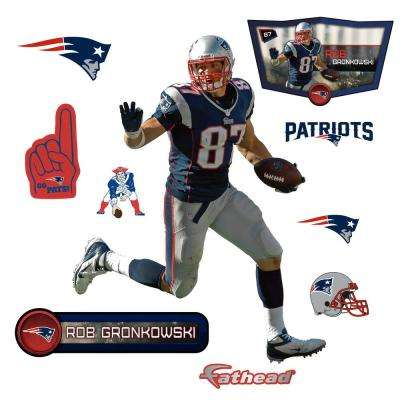 32 in. H x 24 in. W Rob Gronkowski - Jr Wall Mural