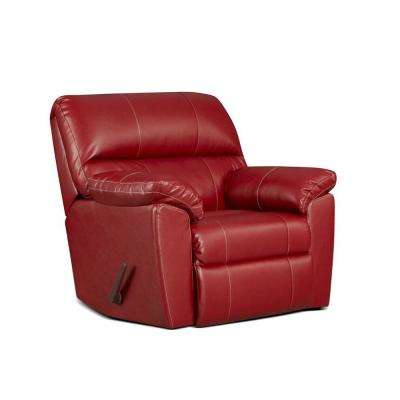 Buckland Austin Red Rocker Recliner