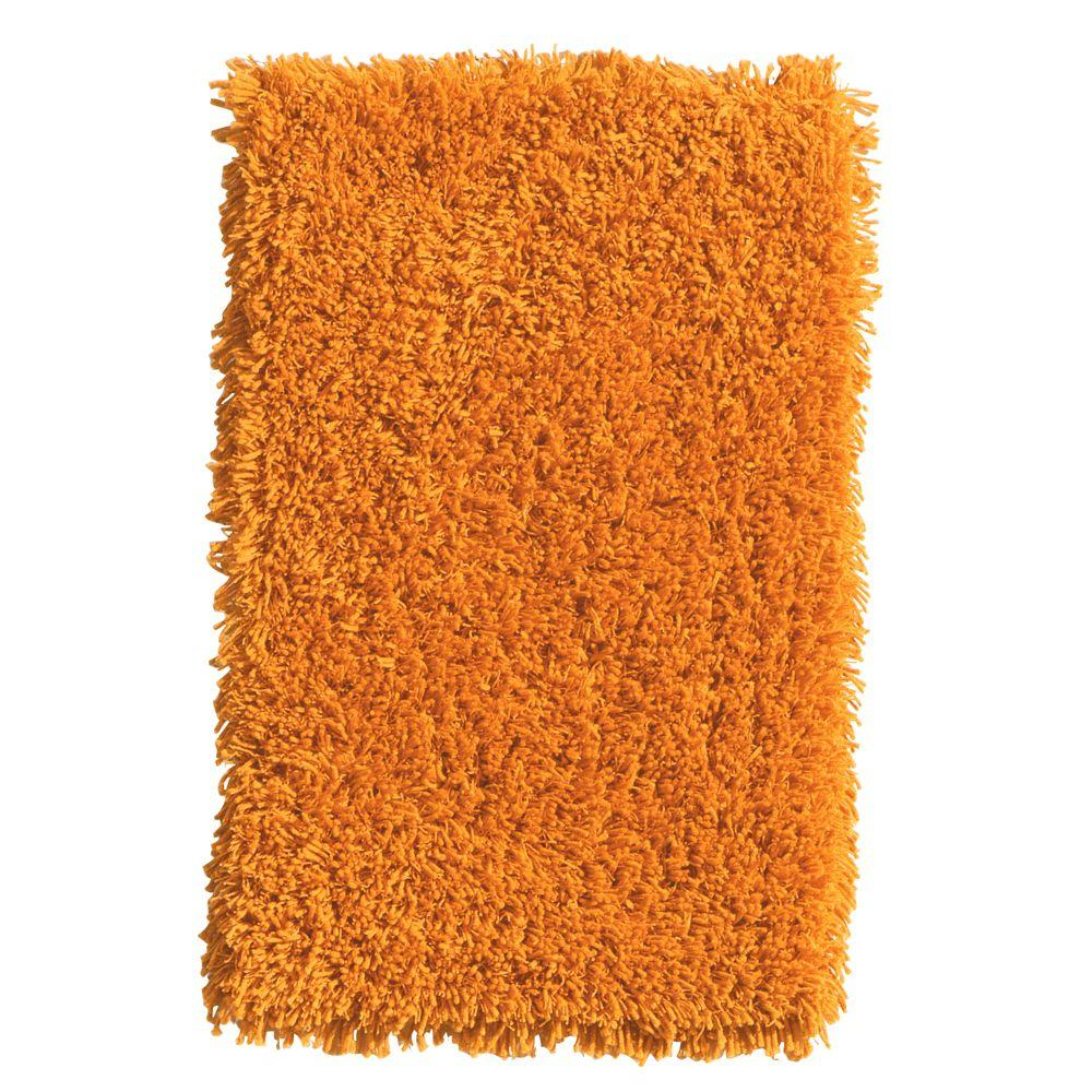 Home Decorators Collection Ultimate Shag Orange 9 ft. x 12 ft. Area Rug