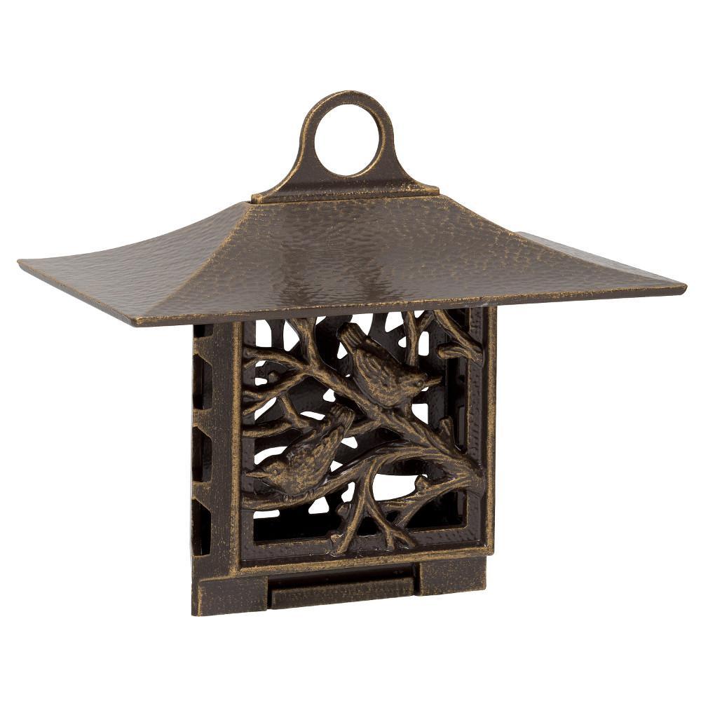 Nuthatch Artisan French Bronze Suet Bird Feeder