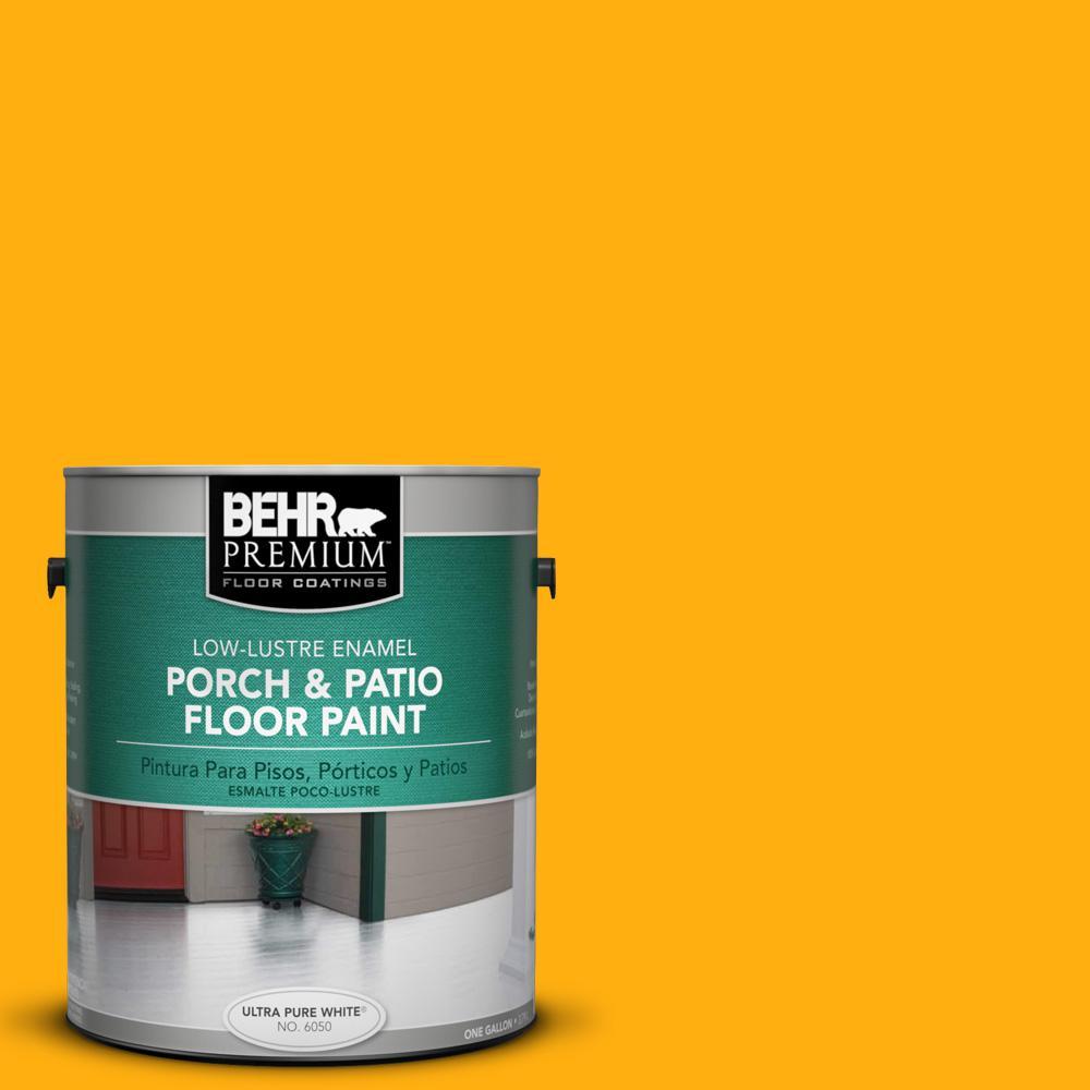 1 gal. #S-G-350 Desert Glow Low-Lustre Porch and Patio Floor Paint