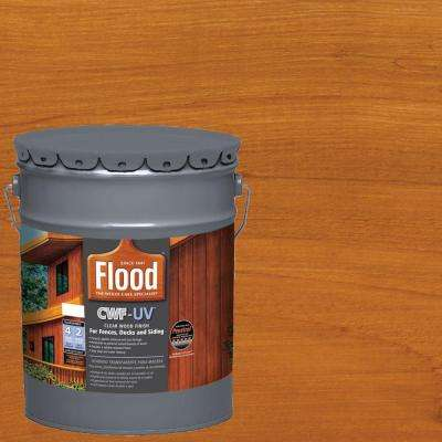 5 Gal Cedar Tone Cwf Uv Oil Based Exterior Wood Finish