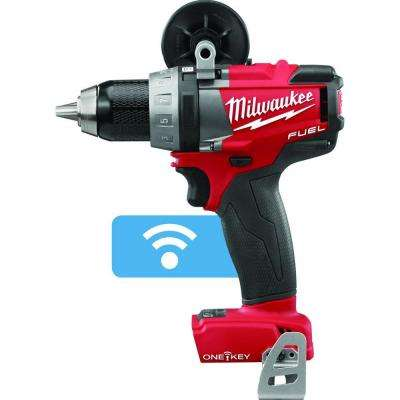 M18 FUEL ONE-KEY 18-Volt Lithium-Ion Brushless Cordless 1/2 in. Drill/Driver (Tool-Only)
