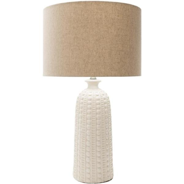 Alex 28.75 in. White Indoor Table Lamp
