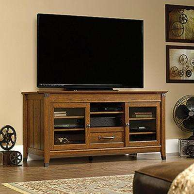 Carson Forge Washington Cherry Storage Entertainment Center