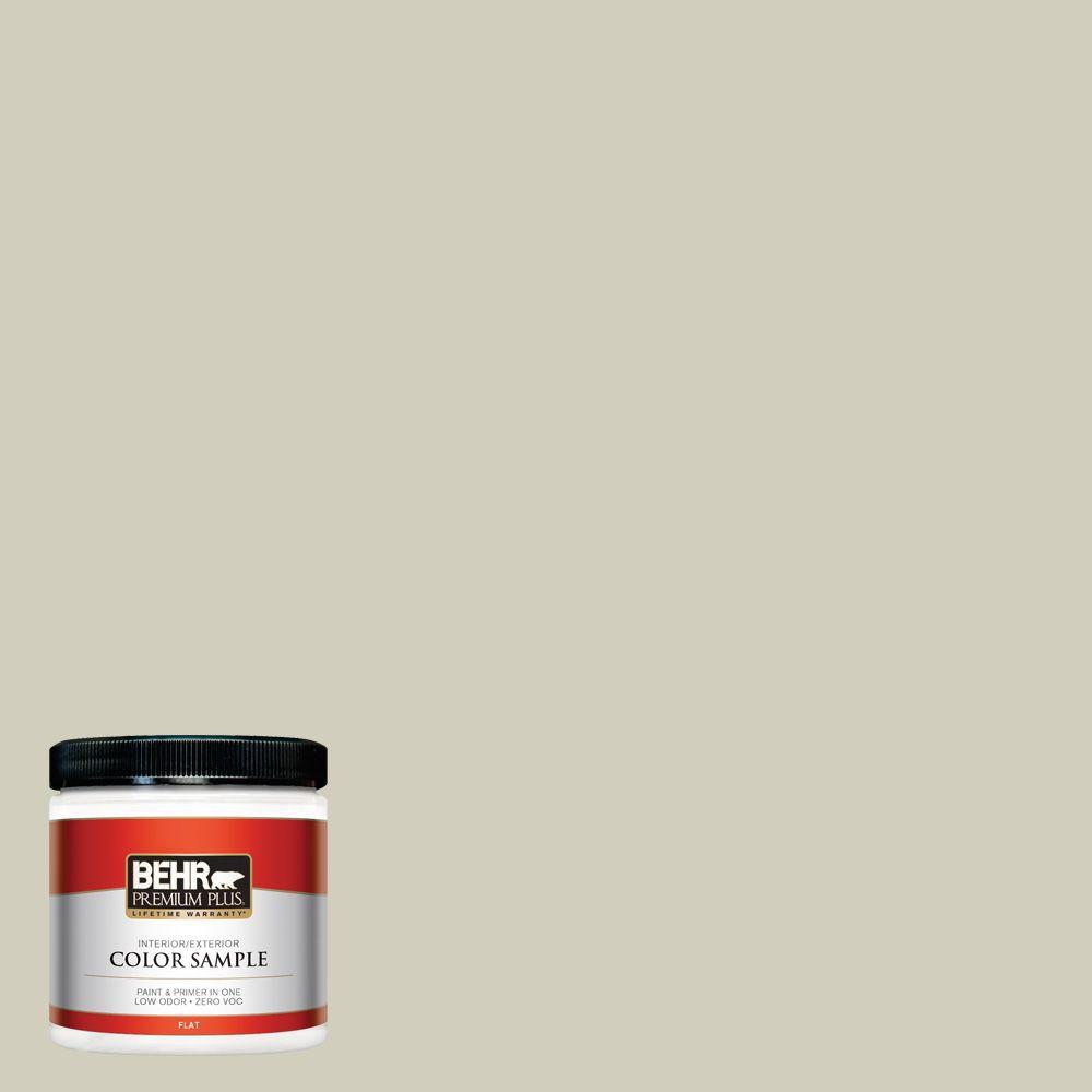 8 oz. #780C-3 Ocean Pearl Interior/Exterior Paint Sample