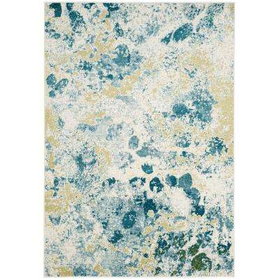 Watercolor Area Rugs Rugs The Home Depot