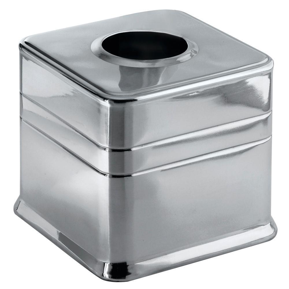 Interdesign Astor Stainless Steel Tissue Box Cover