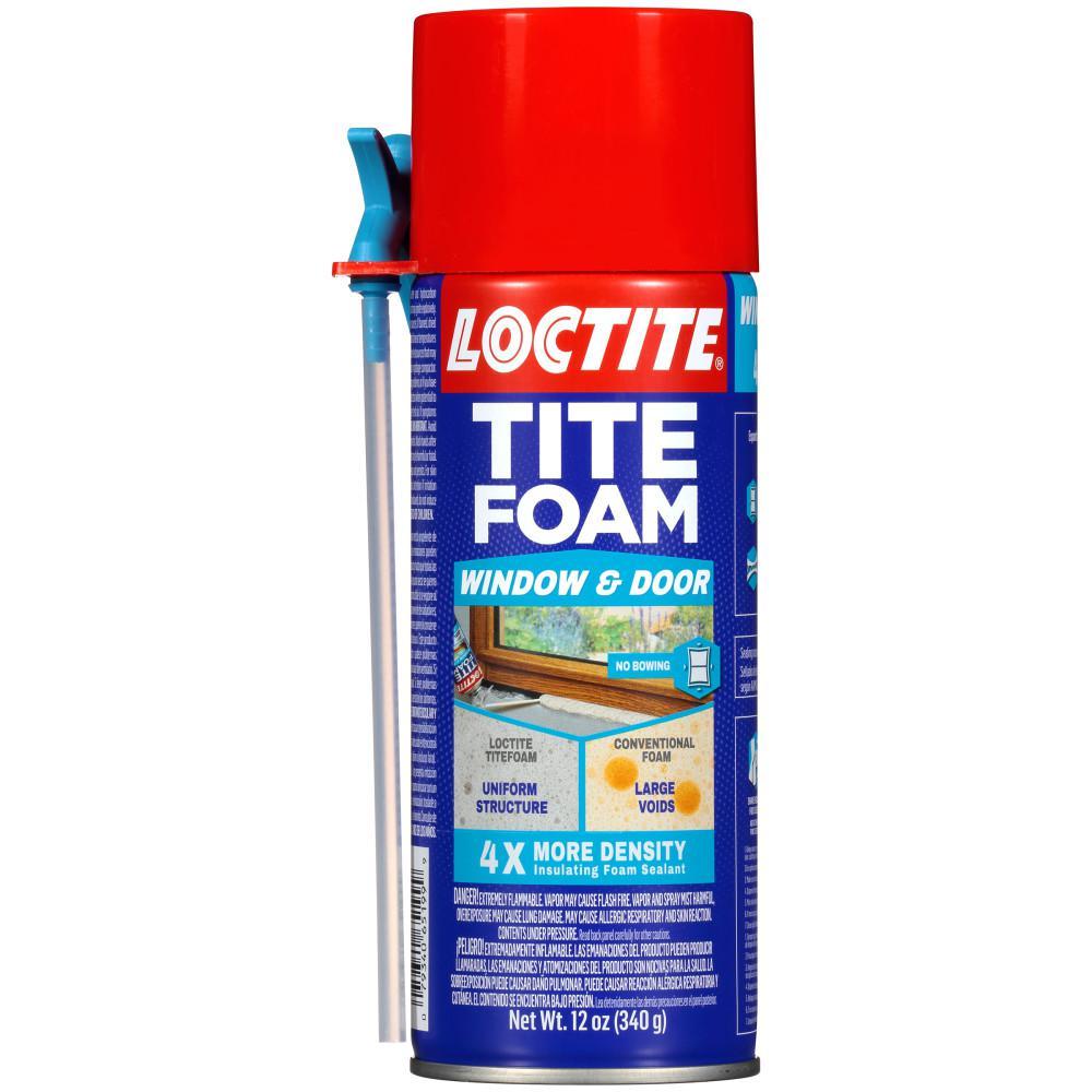Loctite Tite Foam Window and Door 12 fl. oz. Insulating Spray Foam