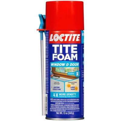 Tite Foam Window and Door 12 fl. oz. Insulating Spray Foam (12-Pack)