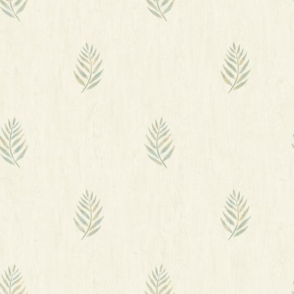 Chesapeake 56.4 sq. ft. Vista Olive Leaf Wallpaper 3117-12353