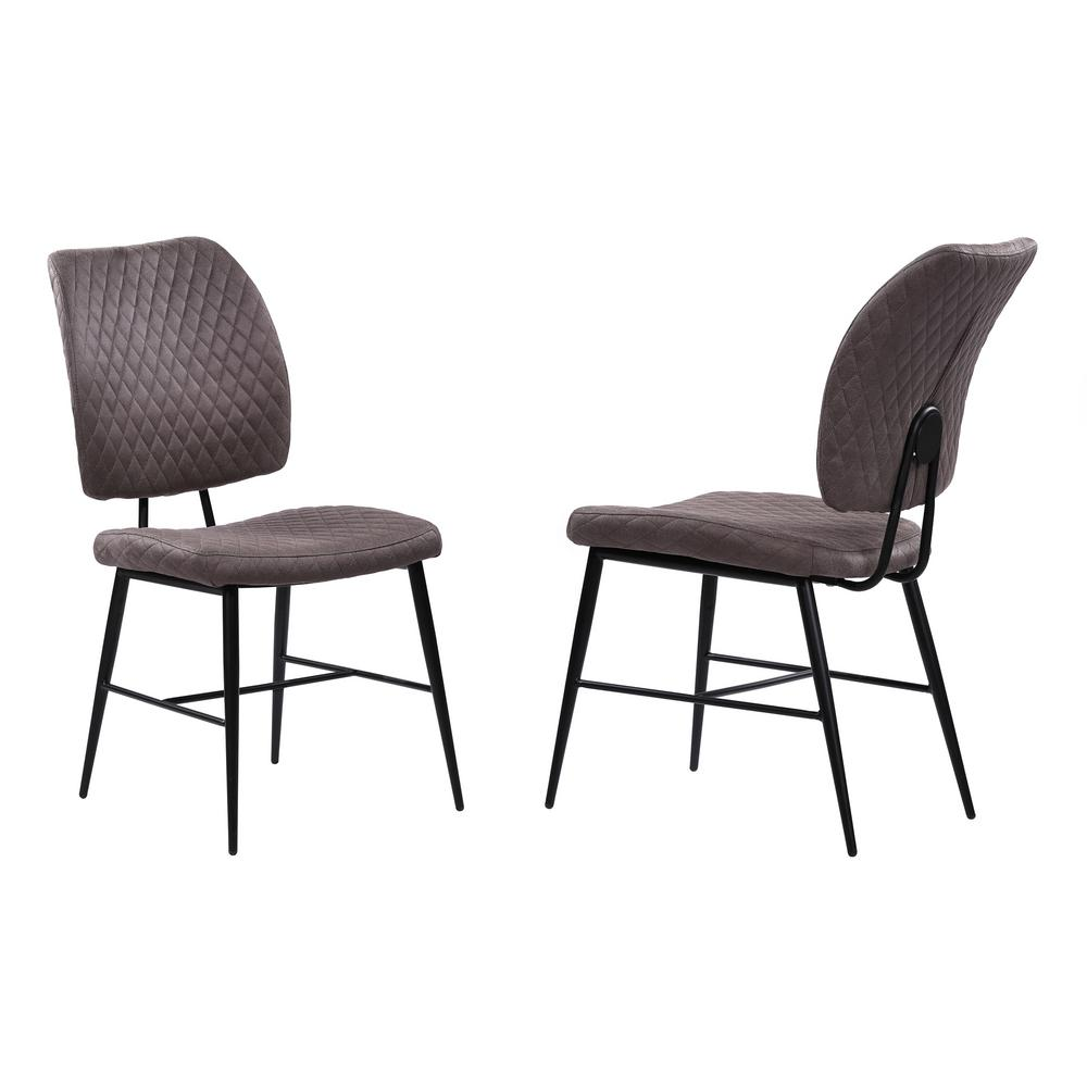 Bautista Grey Dining Chair (Set of 2)