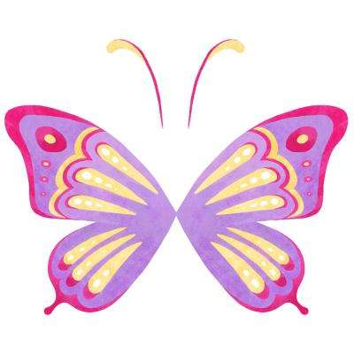Multi-Color Fly Away with Me Decal Wall Art Kit