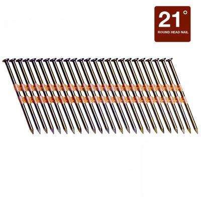 3-1/4 in. x 0.131-Gauge Plastic Galvanized Smooth Shank Round Head Framing Nails (4,000 per Box)