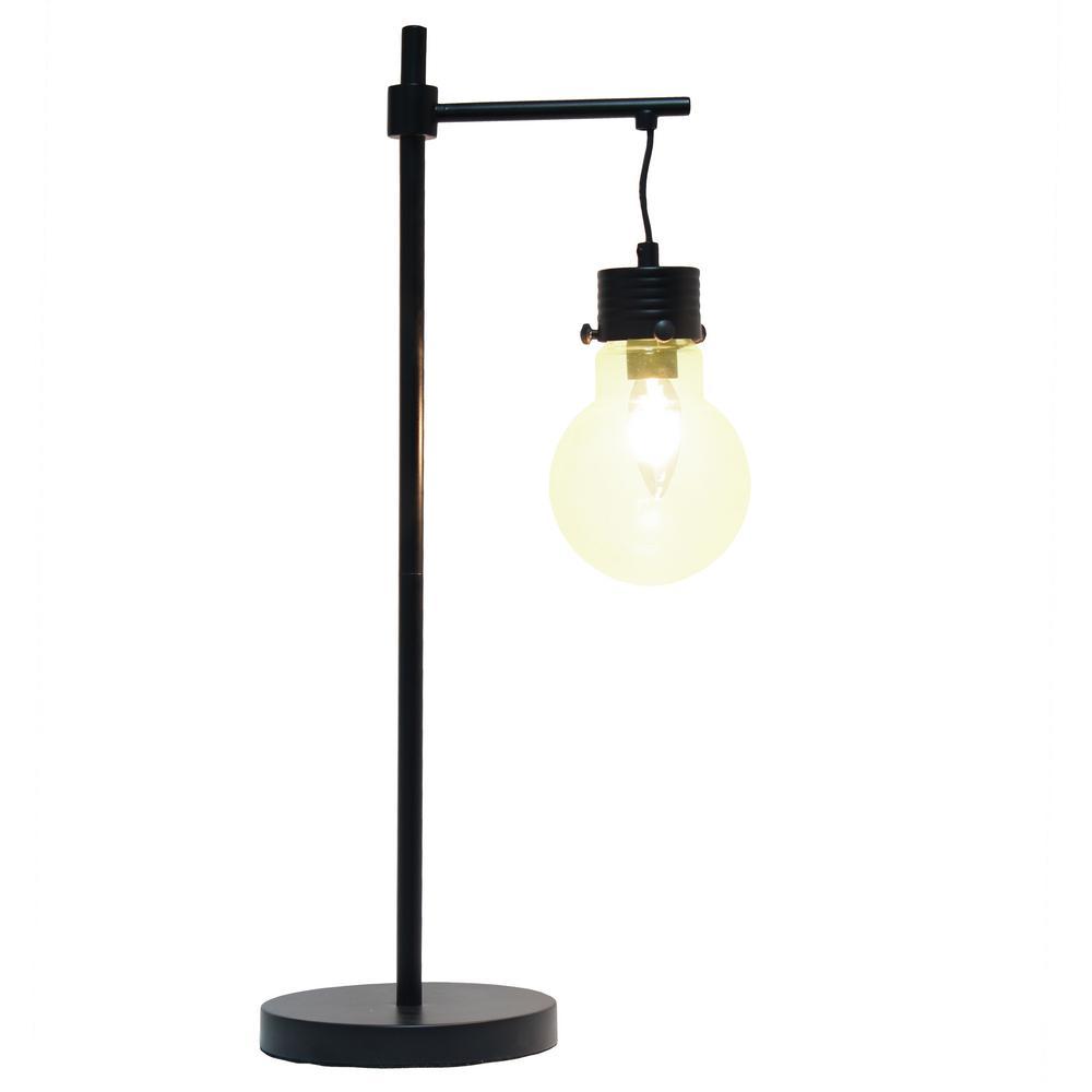 Light Black Matte Beacon Table Lamp
