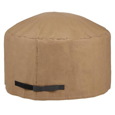 Essential 44 in. D x 24 in. H Round Fire Pit Cover