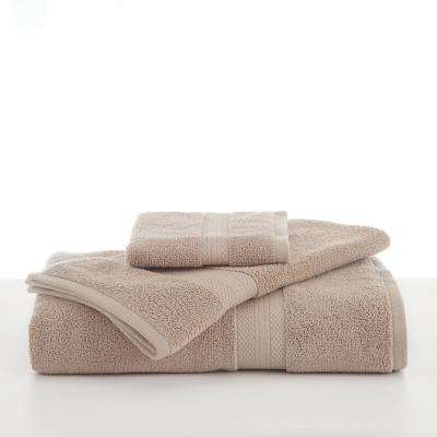 Abundance Cotton Blend  Bath Towel in Linen