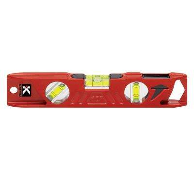 10 in. Magnetic Cast Toolbox Level with Plumb Site