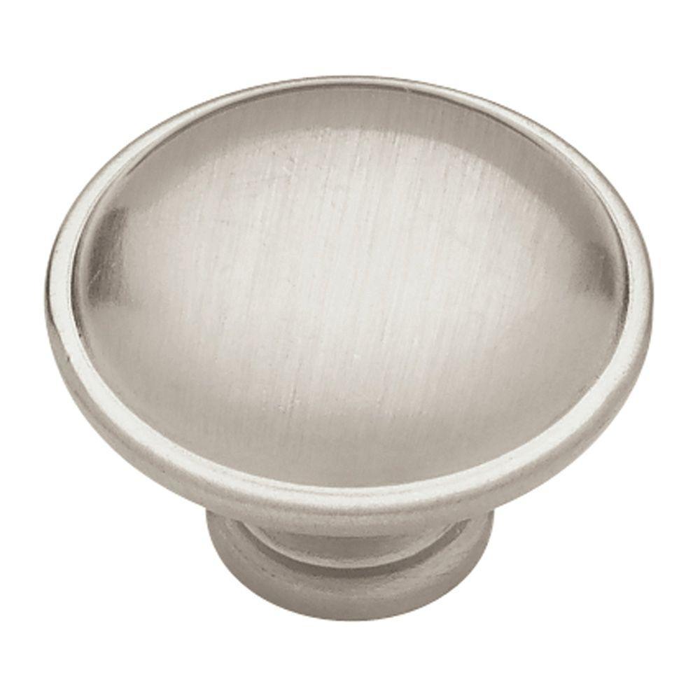 1-1/4 in. Satin Nickel Sophia Round Cabinet Knob