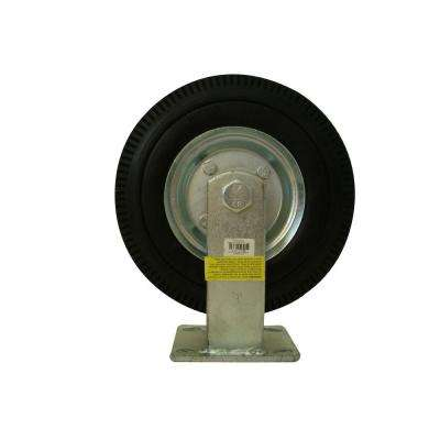 8 in. Rigid Flat Free Caster Wheel