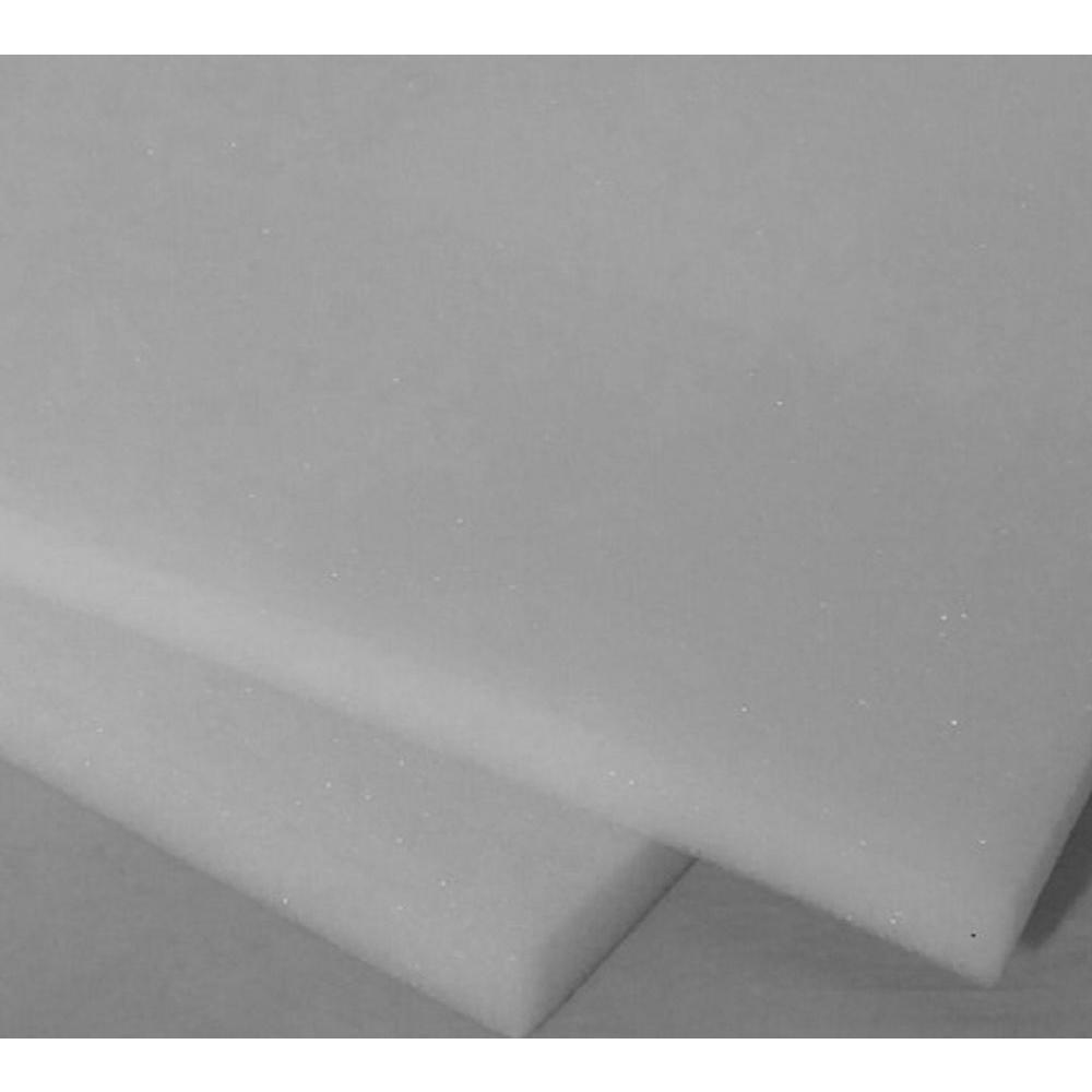 Ashford Textiles Regular Density Poly Foam 22in. X 22in.X 2 in. - (2-Pack)
