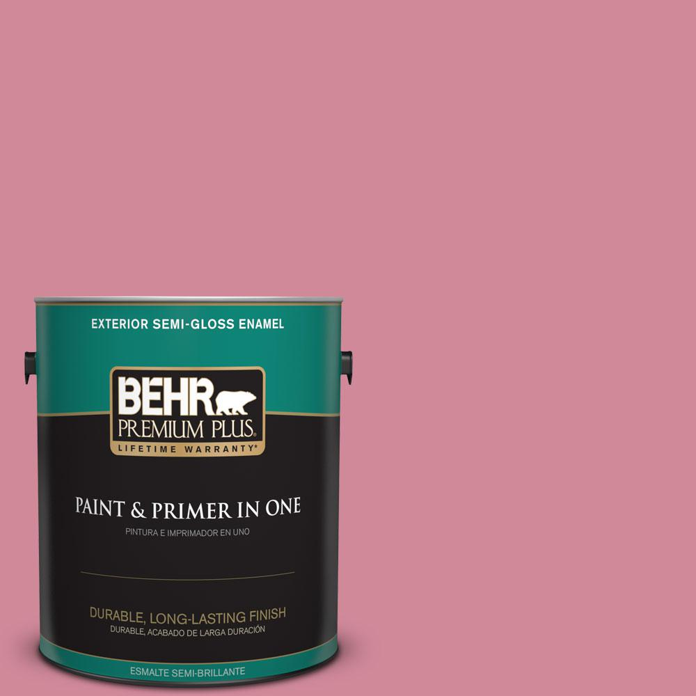1-gal. #M140-4 Fruit Cocktail Semi-Gloss Enamel Exterior Paint