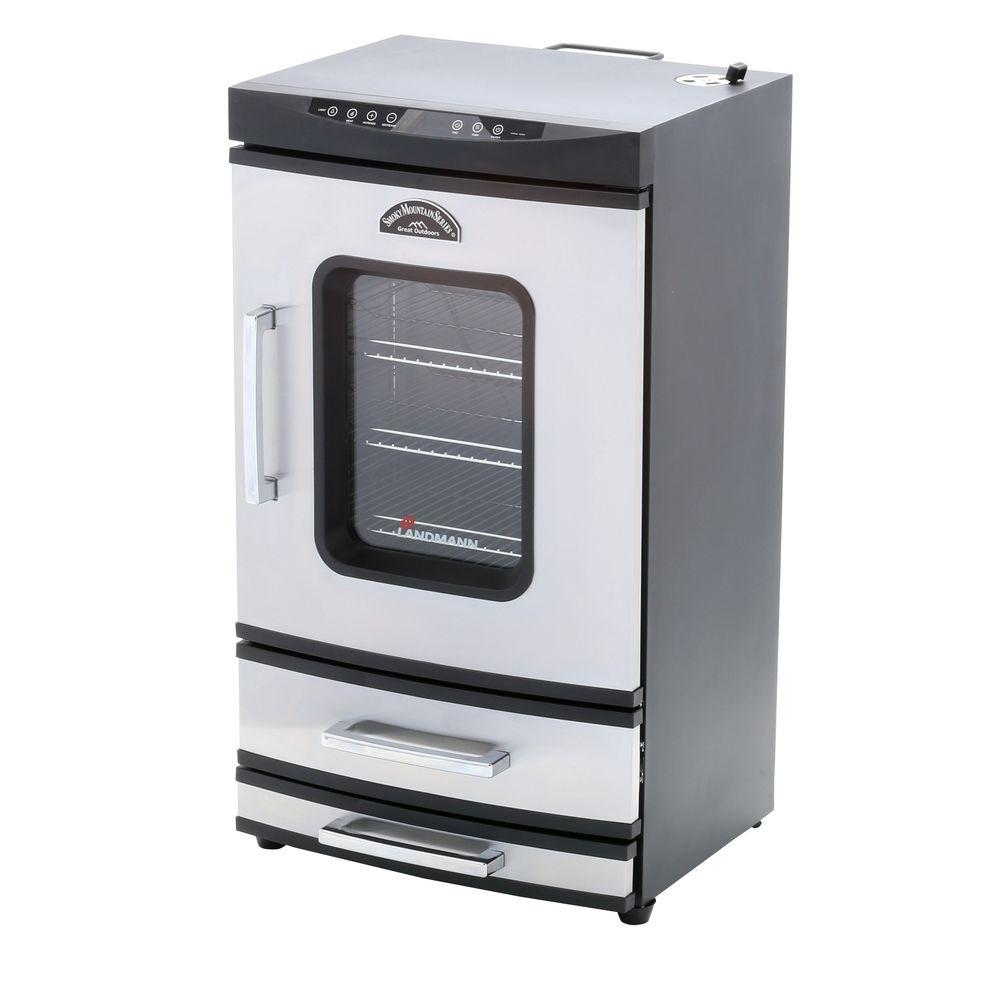 Smoky Mountain 40 in. Electric Smoker with 2 Drawers