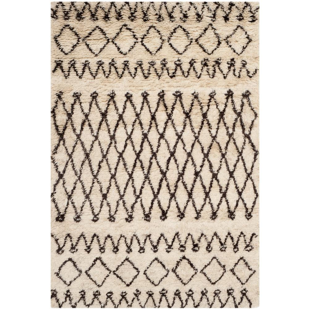 Casablanca Ivory/Natural 4 ft. x 6 ft. Area Rug