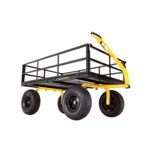 Gorilla Carts 1,400 lb. Super Heavy Duty Steel Utility Cart by Gorilla Carts