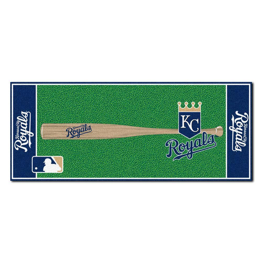 Kansas City Royals 2 ft. 6 in. x 6 ft. Baseball