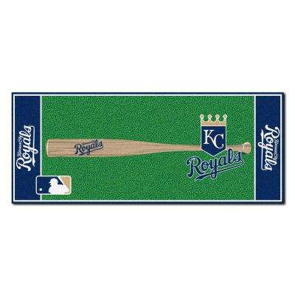 Kansas City Royals 2 Ft 6 In X Baseball Runner