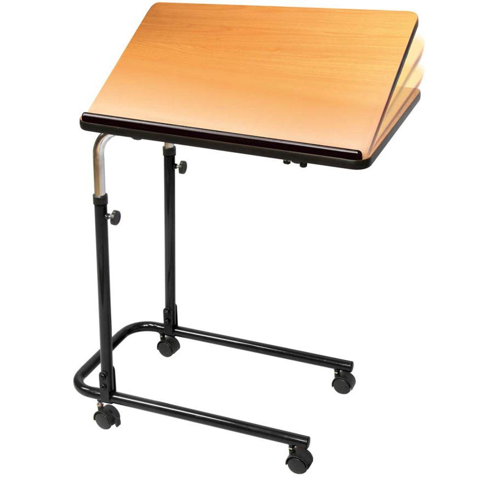 Carex Health Brands Home Overbed Table P568 00 The Home Depot