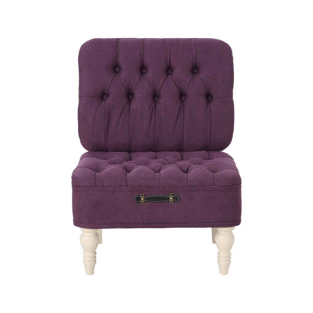 Astonishing Noble House Kamela Tufted Purple Fabric Vanity Chair With Machost Co Dining Chair Design Ideas Machostcouk