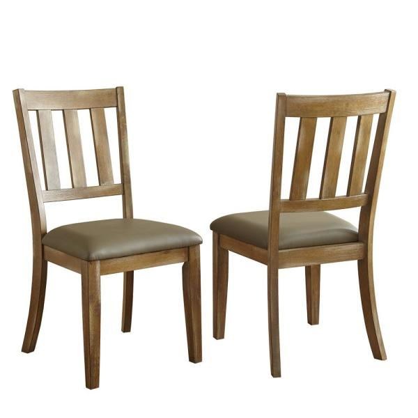 Steve Silver Company Ander Brown Side Chair (Set of 2) AD450S